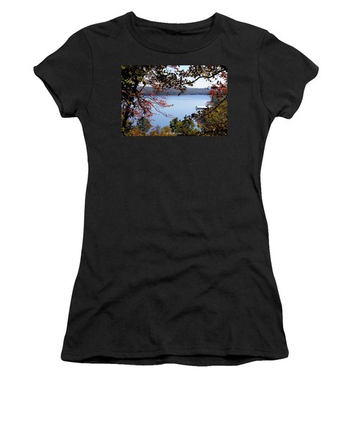 Peek-a-view Women's T-Shirt (Junior Cut) by Betty Northcutt
