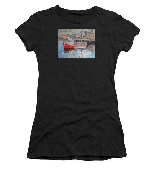 Peggy's Cove  Fishermen Women's T-Shirt (Athletic Fit)