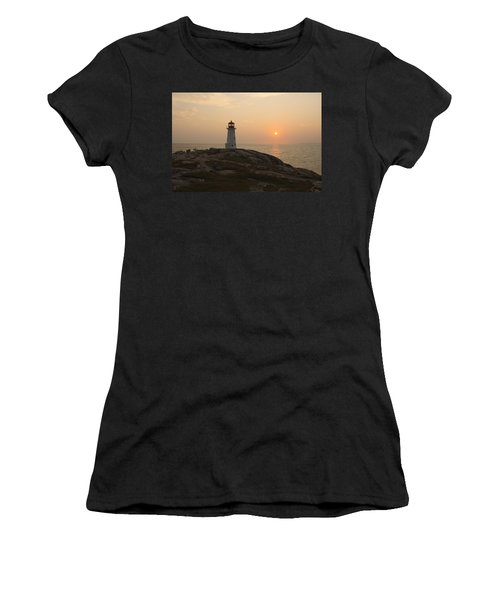 Peggy's Cove Lighthouse Women's T-Shirt (Athletic Fit)