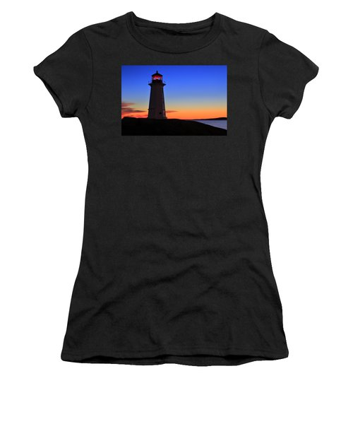 Peggy's Point Lighthouse, Nova Scotia Women's T-Shirt