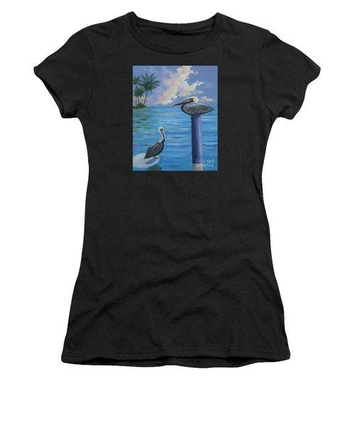 Pelican Pals Women's T-Shirt (Athletic Fit)