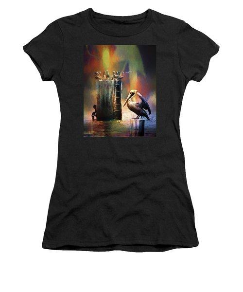 Pelican Ways Women's T-Shirt (Athletic Fit)
