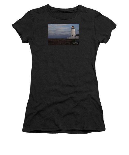 Pemaquid And Full Moon Women's T-Shirt