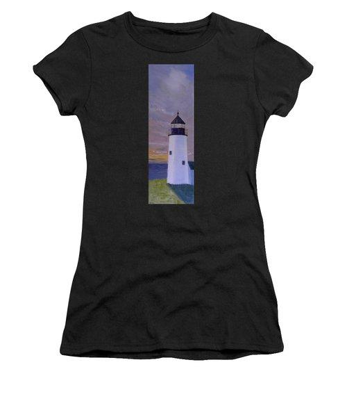 Pemaquid Light Morning Light Women's T-Shirt