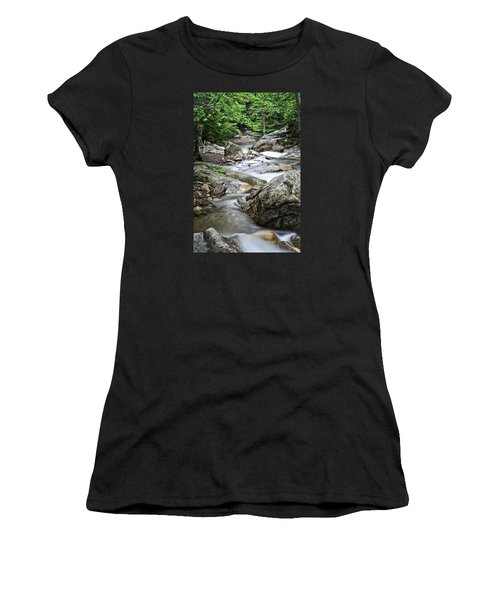 Pemigewasset River Nh Women's T-Shirt (Athletic Fit)