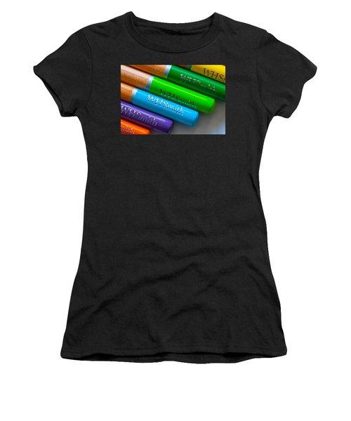Pencils 5 Women's T-Shirt (Athletic Fit)