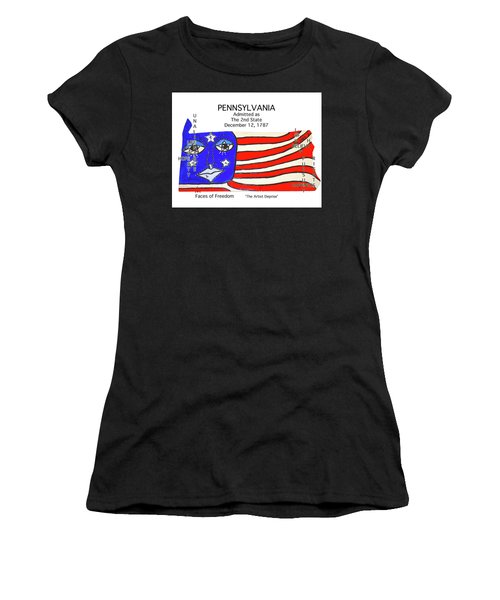 Pennsylvania Women's T-Shirt (Athletic Fit)