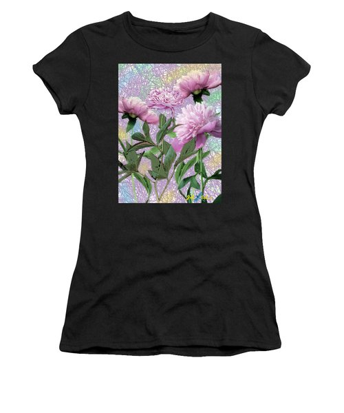 Peonies 6 Women's T-Shirt (Athletic Fit)