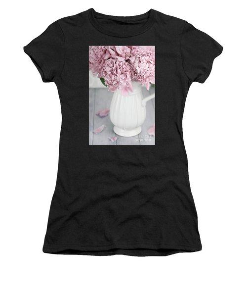 Peonies In A Vase Women's T-Shirt