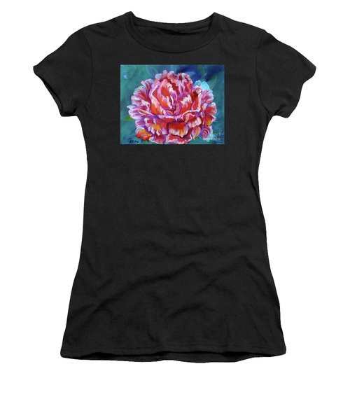 Peony No. 2 Jenny Lee Discount Women's T-Shirt (Athletic Fit)