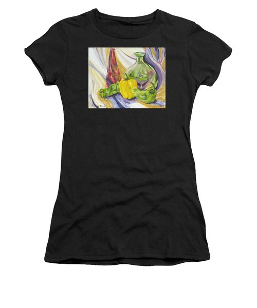 Peppers And Passion Women's T-Shirt (Athletic Fit)