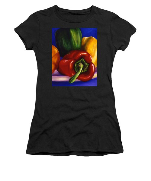 Peppers On Peppers Women's T-Shirt