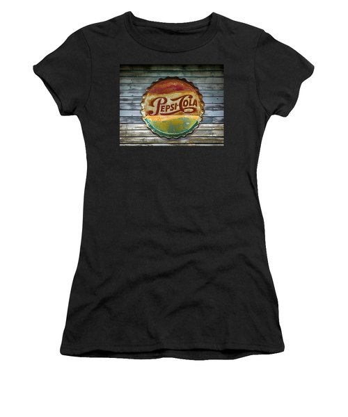 Pepsi-cola Sign Vintage Women's T-Shirt