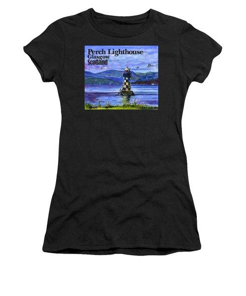 Perch Lighthouse Scotland Women's T-Shirt