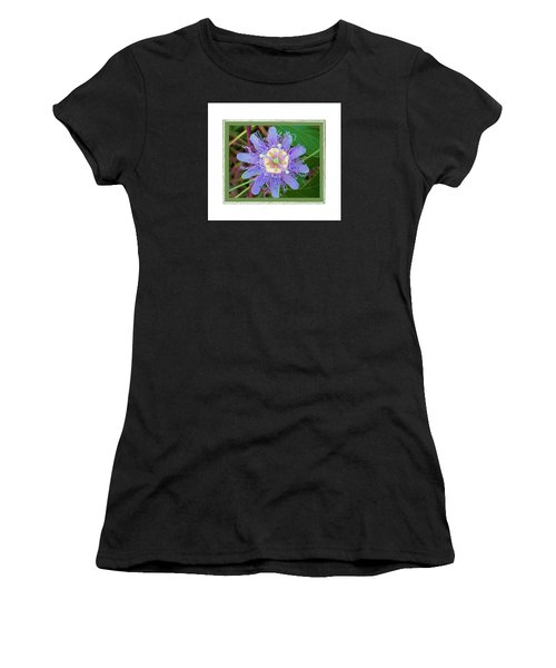 Perfect Passion Flower 2 Women's T-Shirt (Athletic Fit)