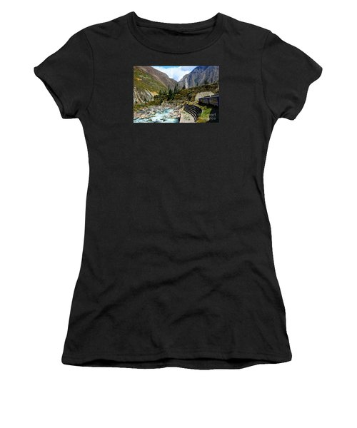 Peruvian Railway Women's T-Shirt (Athletic Fit)