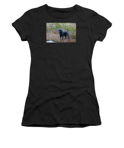 Pet Portrait - Radar Women's T-Shirt (Athletic Fit)