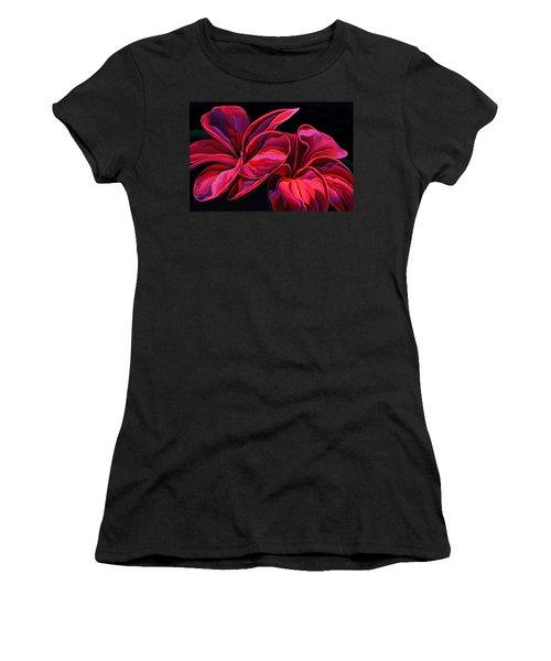 Petal Pageant  Women's T-Shirt (Athletic Fit)