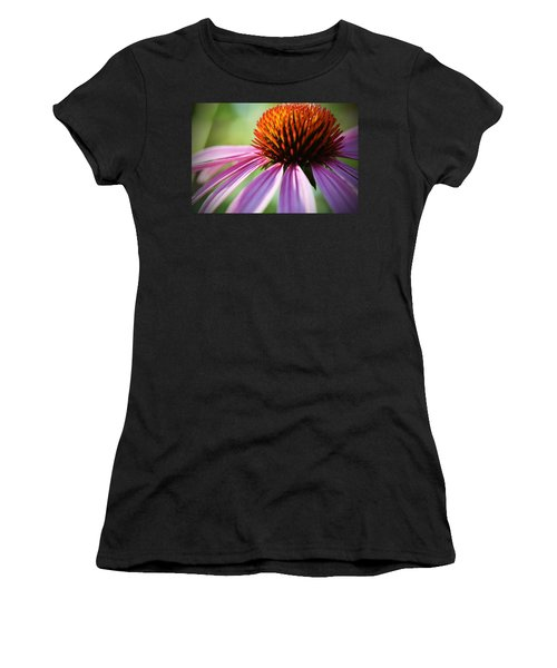 Women's T-Shirt featuring the photograph Petal's Edge by Andrea Platt
