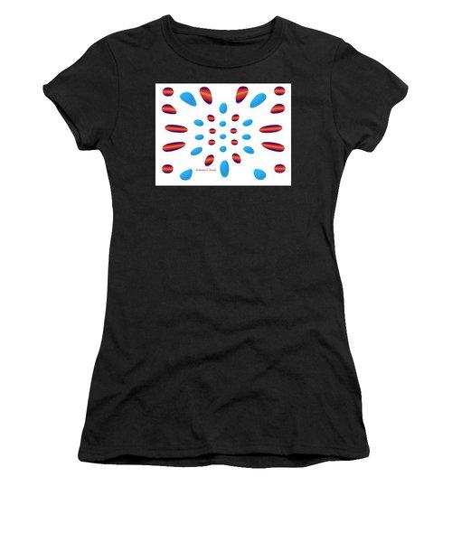 Petals N Dots P5 Women's T-Shirt
