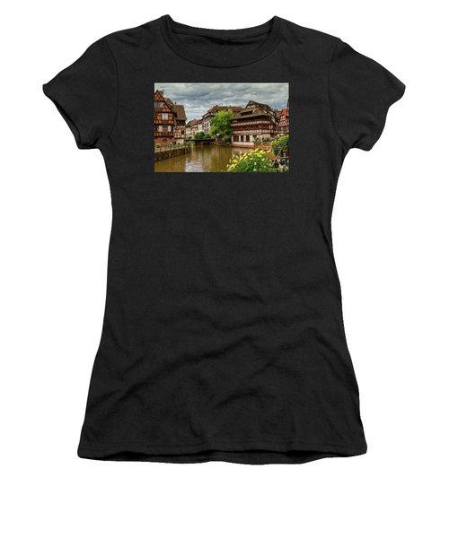 Petite France, Strasbourg Women's T-Shirt (Athletic Fit)