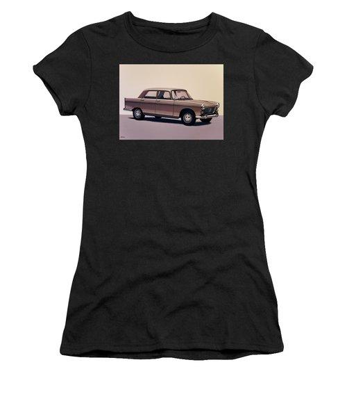 Peugeot 404 1960 Painting Women's T-Shirt