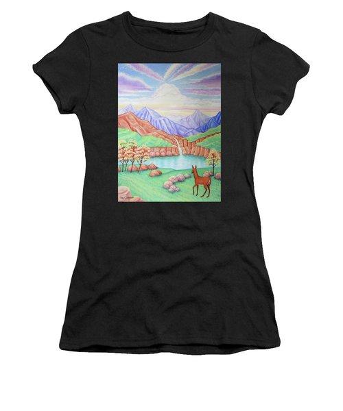 Phantom Valley Women's T-Shirt (Athletic Fit)