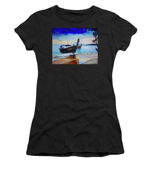 Phi Phi Women's T-Shirt (Athletic Fit)