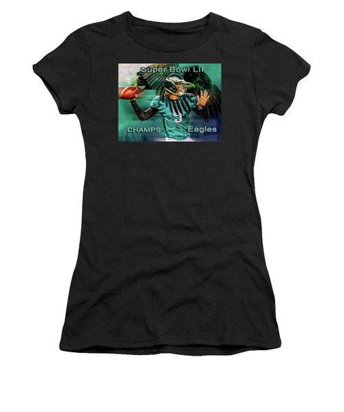 Philadelphia Eagles - Super Bowl Champs Women's T-Shirt (Athletic Fit)