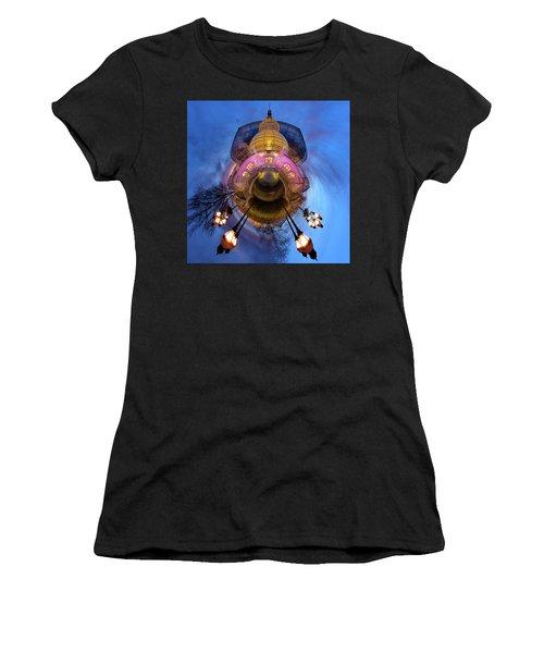 Phipps Conservatory Little Planet  Women's T-Shirt (Athletic Fit)