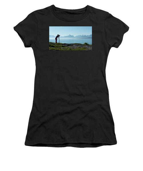 Photograph In Norway Women's T-Shirt (Athletic Fit)
