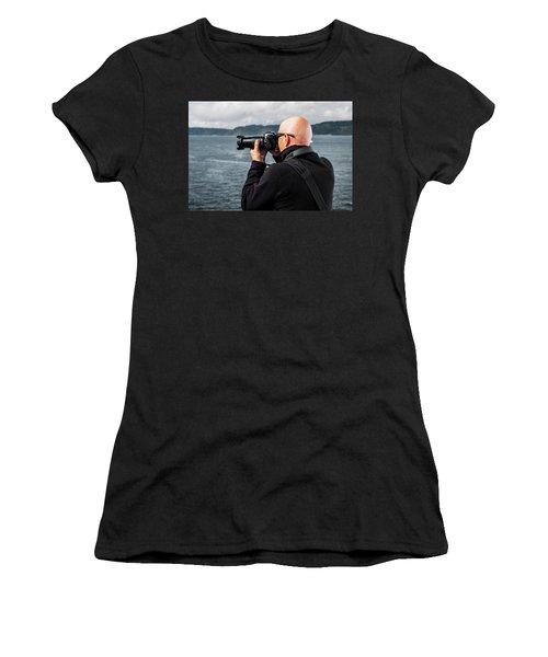 Photographer At Work Women's T-Shirt