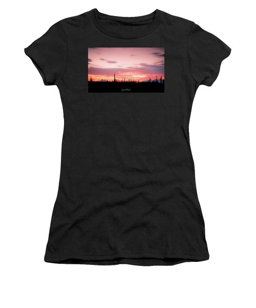 Picacho Sunset Women's T-Shirt (Athletic Fit)