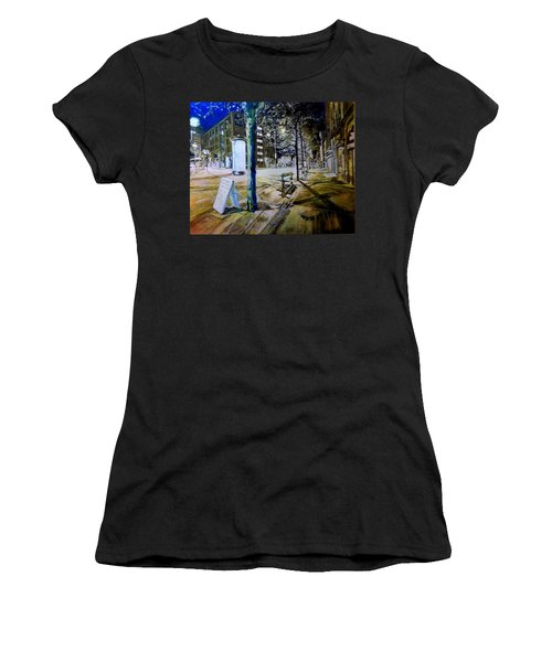 Piccadilly Gardens, Manchester Women's T-Shirt (Athletic Fit)