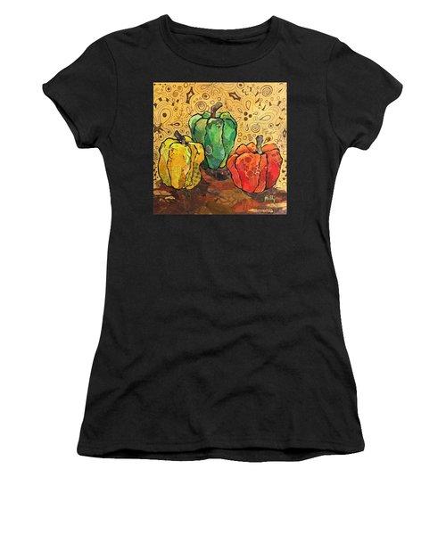 Pick A Peck Women's T-Shirt (Athletic Fit)