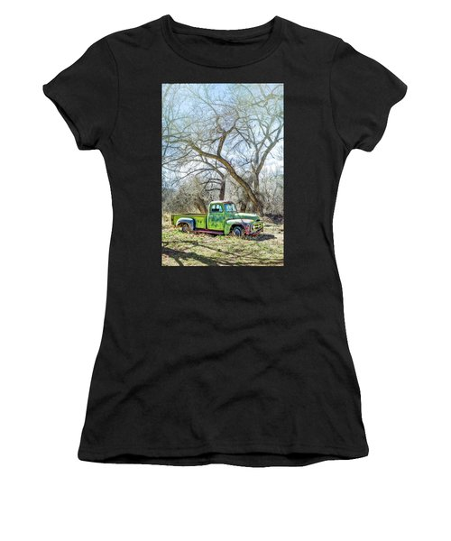 Pickup Under A Tree Women's T-Shirt
