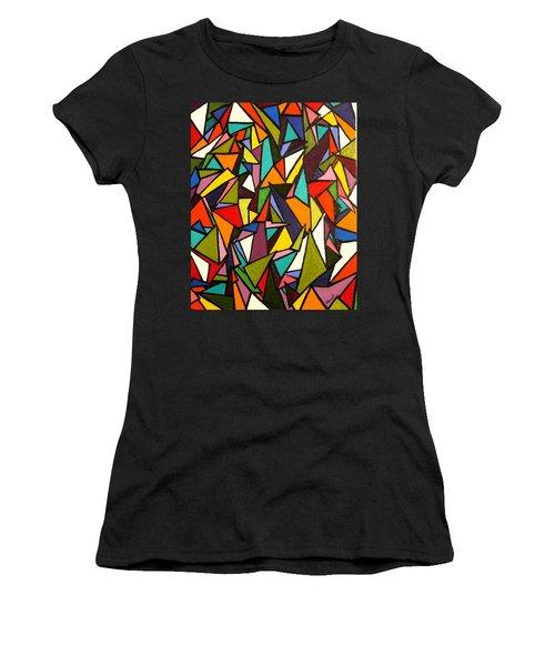 Pieces Women's T-Shirt (Athletic Fit)