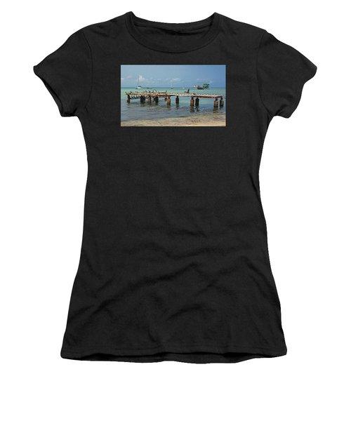 Pier For Birds Women's T-Shirt (Athletic Fit)
