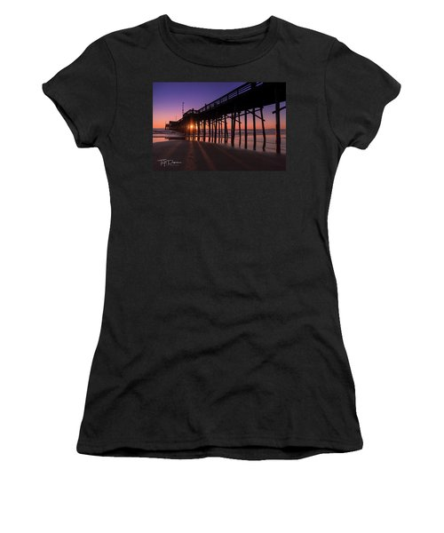 Pier In Purple Women's T-Shirt