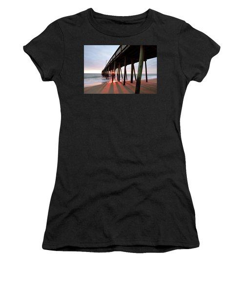 Pier Sunburst Women's T-Shirt (Athletic Fit)