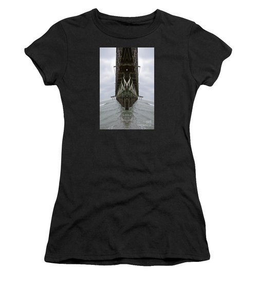 Pier Three Women's T-Shirt (Athletic Fit)