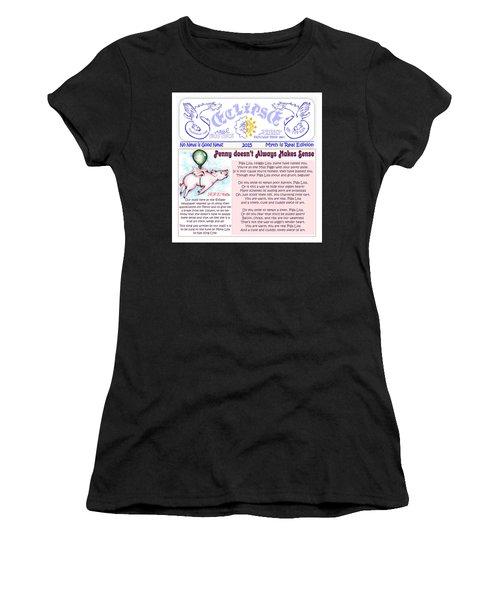 Real Fake News Financial Column Women's T-Shirt