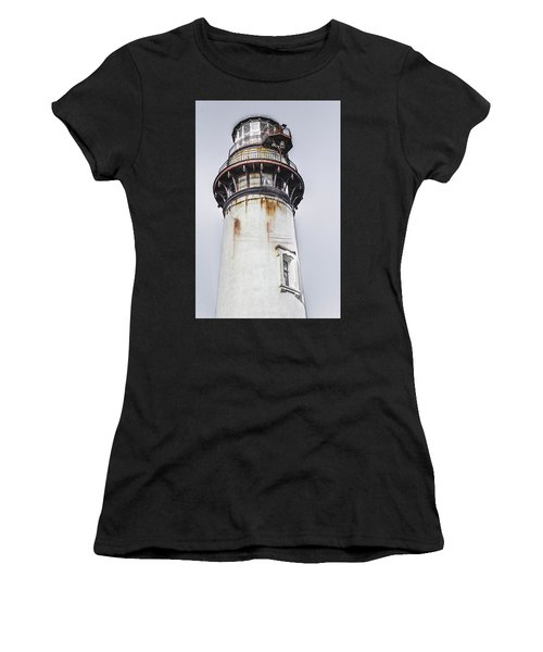 Women's T-Shirt featuring the photograph Pigeon Point Light Station by Randy Bayne