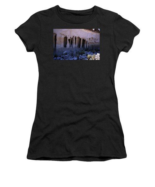 Pillars And Caves, Crowley Lake Women's T-Shirt (Athletic Fit)