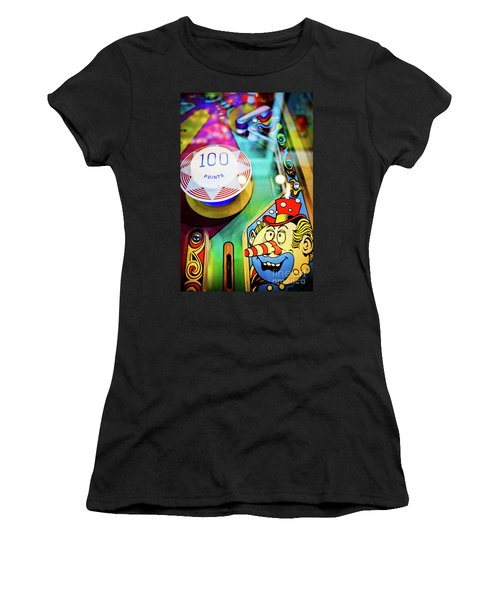Pinball Art - Clown Women's T-Shirt