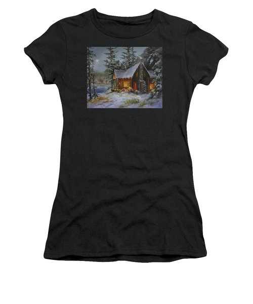 Pine Cove Cabin Women's T-Shirt