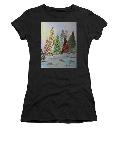 Pine Cove Women's T-Shirt (Athletic Fit)