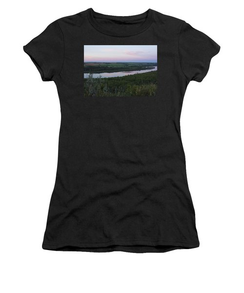 Pine Island Women's T-Shirt (Athletic Fit)