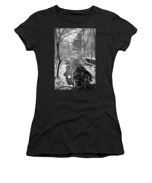 Pine Reflection On The Sheepscot Women's T-Shirt