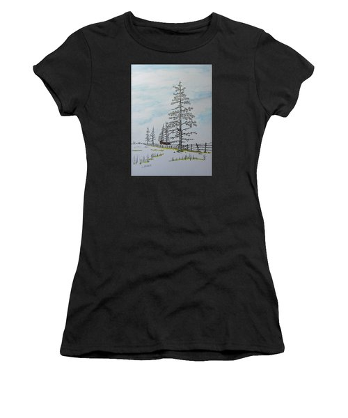 Pine Tree Gate Women's T-Shirt (Athletic Fit)